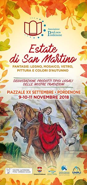 Estate Di San Martino A Pordenone Locandina 2018