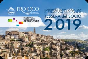 Tessera Del Socio Pro Loco 2019, Pordenone