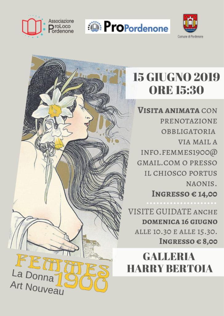 Locandina Mostra Femme 1900, Festa Sul Nonsel 2019